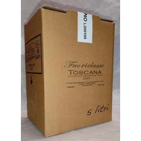 Collebello Toscana I.G.T. 2015  Bag in Box 5 liters